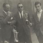 1961-62 PATRO Inf. Campeón copa  Alonso, Libarona y Bediaga