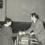 1971-72 PATRONATO Club entr. trofeos,  Luis Carlos García y Madariaga
