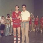 1976-77 VI Torneo Patronato en Munguia  (Andía y Mohamed) máximos anotadores