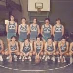 1976-77 VI Torneo Patronato en Munguia. Tabirako