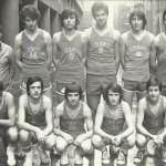 1977-78 PATRO Maristas juvenil campeón liga, sector y 4º España y 2º copa