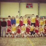 1977-78 PATRO Maristas jv Ctº España La Coruña Maristas & Barcelona