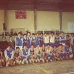 1977-78 PATRO Maristas jv Ctº España La Coruña Maristas & R Madrid