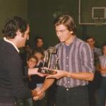 1977-78 VII Torneo Patronato en Mungia Miguel Sesé con Pruden d
