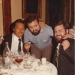 1977 Insignias de oro a Lizarralde, Luis Gómez y Jose Angel J Otxoa