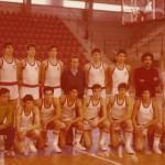 1977 Selección española juvenil con Josu laría en el Cto. de Europa