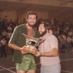 1978 VIII Torneo Patronato 1º PATRO Txema Arbe con Koldo Beaskoetxea