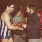 1979 05 26 homenaje a Félix Mendía  y López Vicente Placa del PATRO