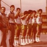 1979-80 Juanjo Neiro y Cuadra arbitrando al Patro junior