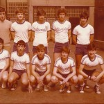 1979-80. Maristas infantil 1979-80 campeón Burdeaux