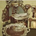 1980-81 X Torneo Patronato trofeos