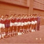 1980-81. Maristas Alevin. Campeón copa, PIN, Bourdeaux y Sbcampeón liga