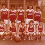 1980-81. Maristas El Salvador  infantil  Campeón liga 2ª Campeón
