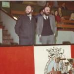 1981-82 XI Torneo Patronato. Presidentes Koldo Beaskoetxea (PATRONATO)- Jorge Linares (Fvib)