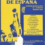 1985 mayo Campeonato de España Junior - Bilbao