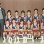 1986-87. Maristas El Salvador premini