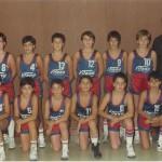 1986-87. Maristas mini