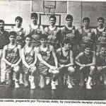 1986-87. PATRO Maristas cadete Correo 1987 05 22