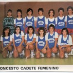 1986-87. PATRO Maristas cadete fem.