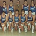 1986-87. PATRO Maristas juvenil 86-87 Campeón Liga y subcampeón Euskadi
