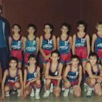 1987-88. Maristas pre-mini campeón liga