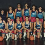 1987-88. Patro Maristas cadete subcampeón liga, 3º Euskadi Subcamp