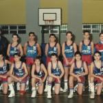 1988-89. Maristas preinfantil 2º liga Campeón Bourdeaux