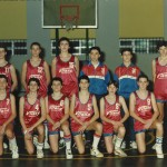 1988-89. PATRO El Salvador cadeteCampeón Bourdeaux