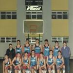 1988-89. PATRO Maristas cadete Campeón liga, copa y de Euskadi