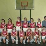 1989-90. MARISTAS infantil subcampeón liga