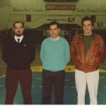 1990-91 SELECCION BIZKAIA Junior cuadro técnico