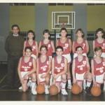 1991-92. Maristas mini campeón liga, Euskadi y PIN