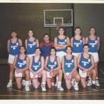 1991-92. PATRO Maristas cadete 2º liga 3º Euskadi