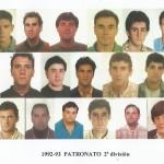 1992-93 PATRO 2ª div