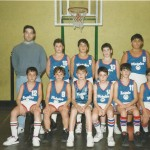 1992-93. El Salvador minibasket