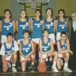 1992-93. Maristas infantil campeón Bizkaia y Euskadi