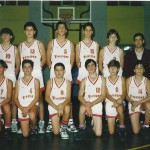 1993-94. Maristas infantil Campeón Liga, Interautonómica y 5º España