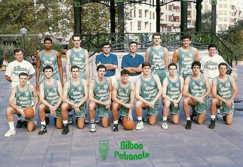 1994-95 BILBAO PATRONATO EBA.