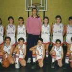 1994-95. Maristas El Salvador Minibasket