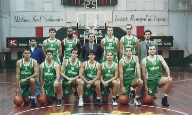 1996-97 BILBAO PATRONATO liga LEB i