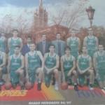 1996-97 BILBAO PATRONATO liga LEB k