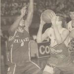 19960210 Deia EBA jugador LARSON. RUSSELL ELLIS
