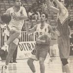19960526 Lugo EBA jugadores LARSON y HERMOSILLA