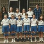 1997-98. Maristas mini fem