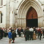 2000 10 28 - 50º Aniversario del PATRONATO, Misa en la catedral