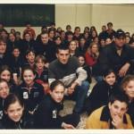 2000 Visita al colegio Fátima Esclavas de Pichardo y Aramisis e