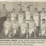 2001-02. PATRO El Salvador Jr. 20010927 Correo