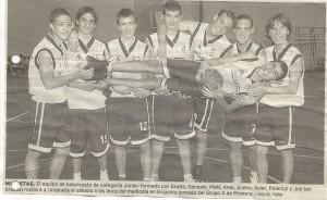 2003-04. PATRO Maristas Jr. 20031016 Correo