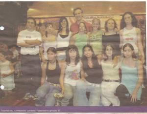 2004-05. PATRO Maristas Cd. fem. 20040600 Correo
