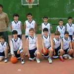 2005-06. Maristas Minibasket masc.